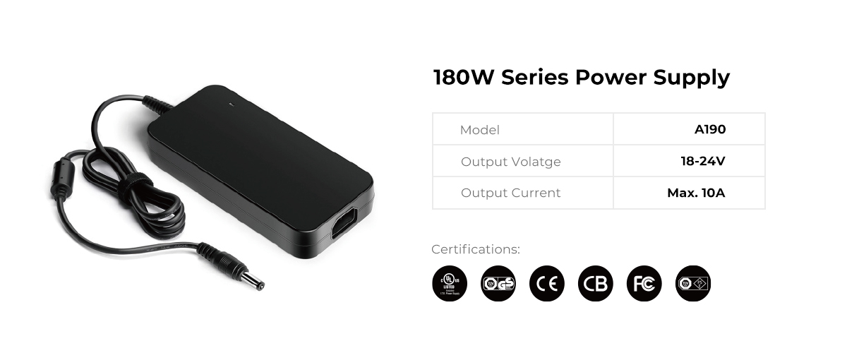 Desktop Type 180W Series Power Supply